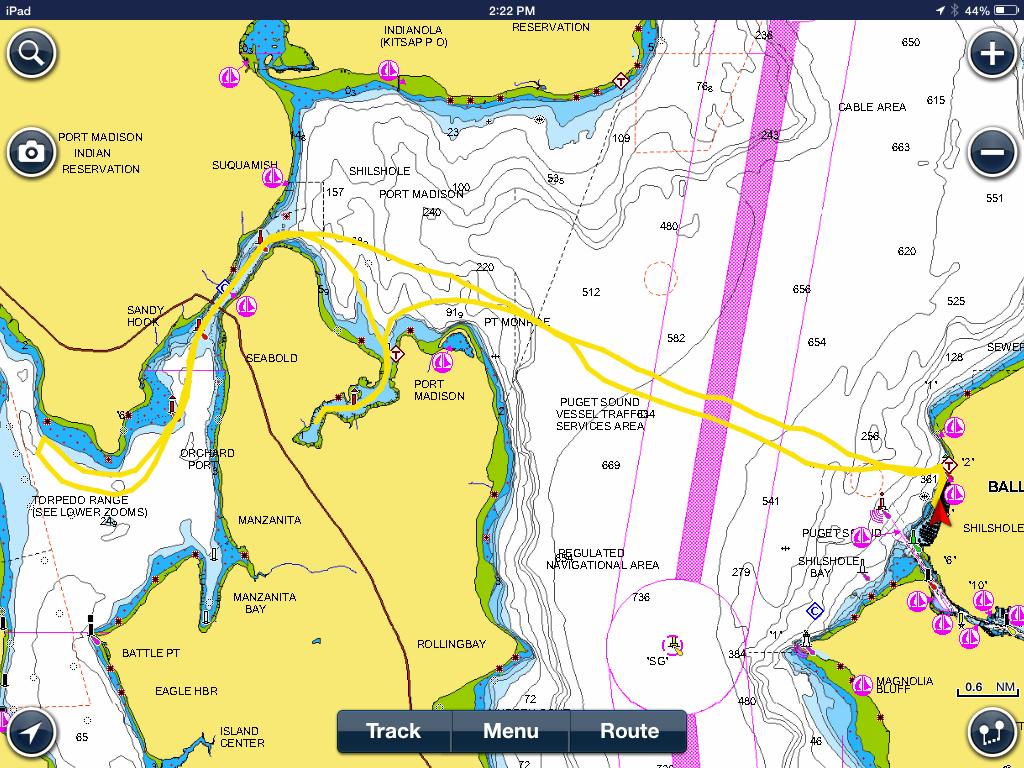 port orchart bay chart